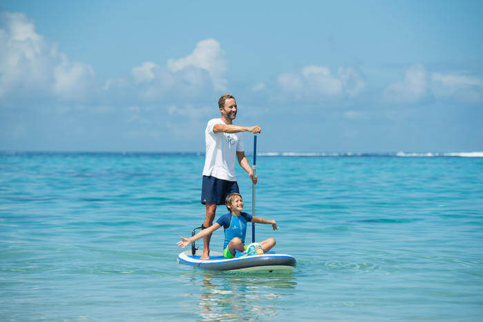 Introduce Your Child to Stand-Up Paddling