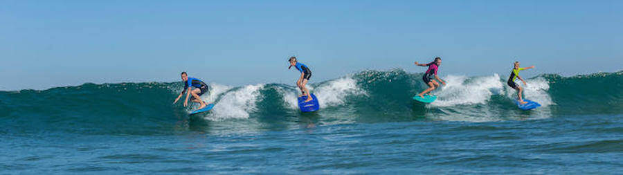 Binson's Surfing Experience At Covelong Point Surf School