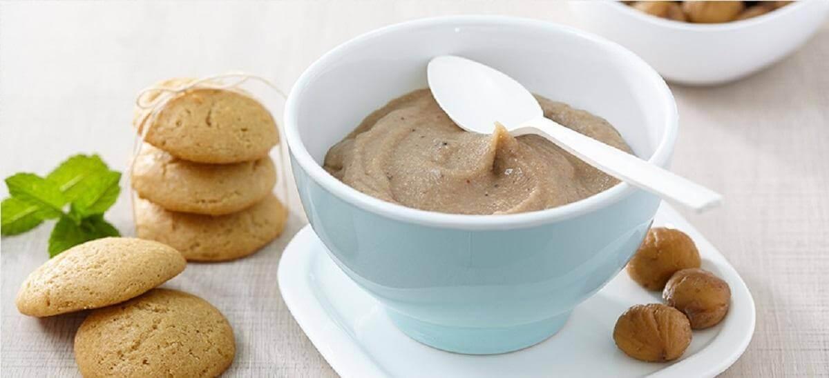 Chestnut protein cream