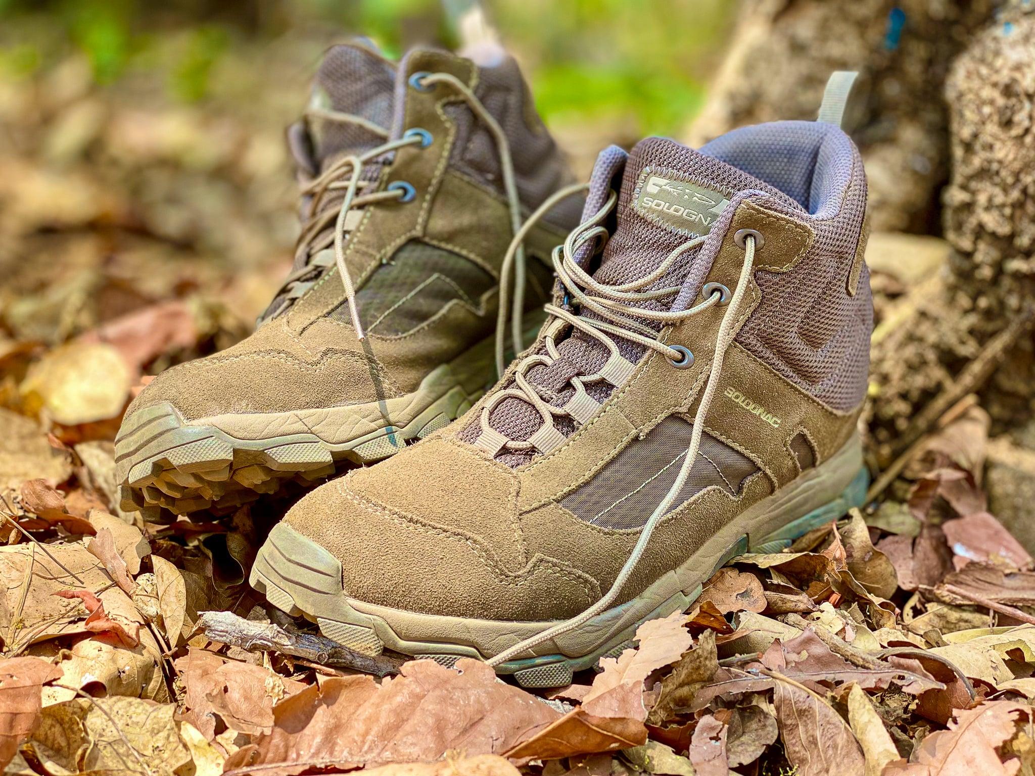 SOLOGNAC Men's Boots 300 Beige - First Hand Field Review
