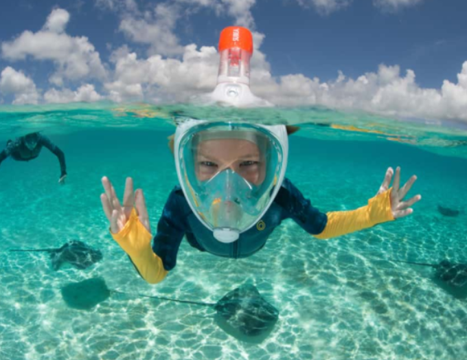 Where to snorkel in and around India?