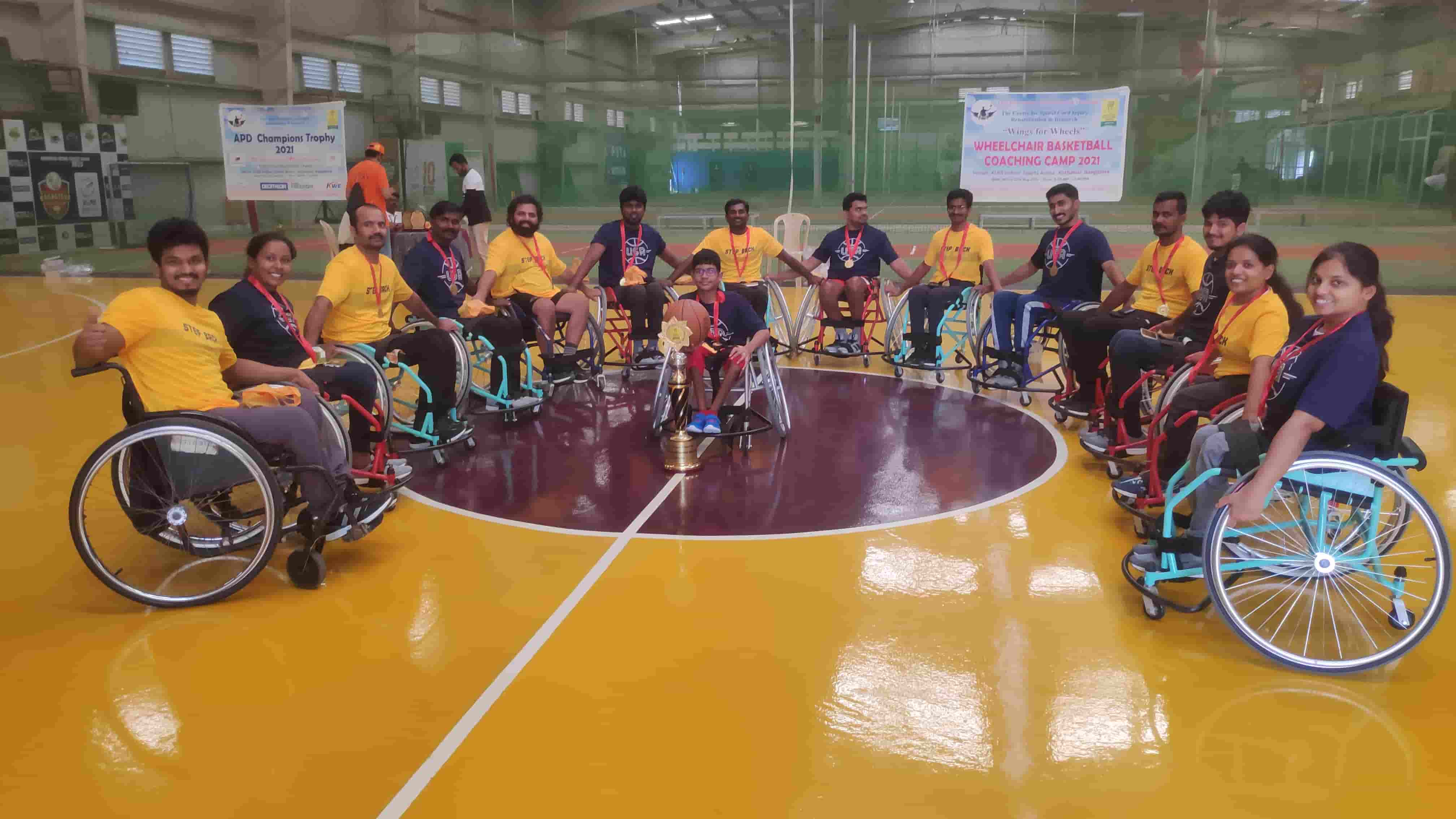 Wheelchair Basketball: An Initiative by the Association of People with Disability  (APD)