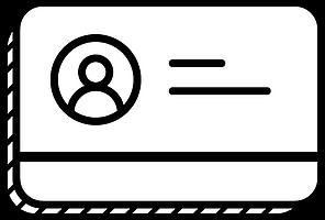 Print Temporary Card Icon