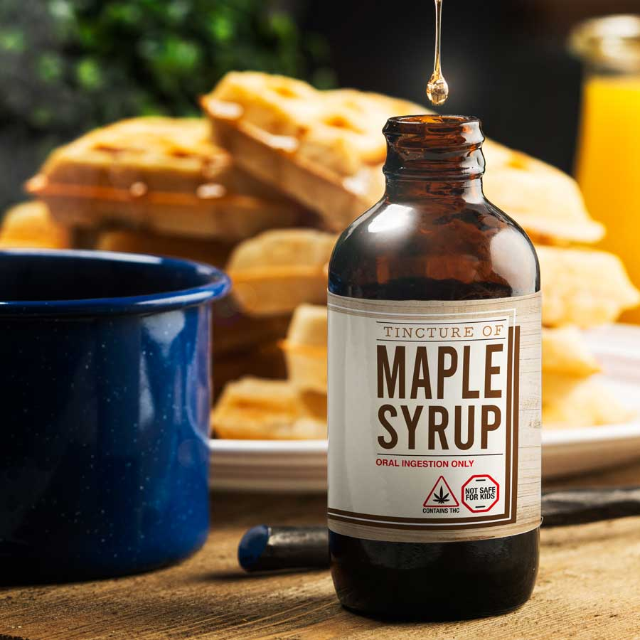 Cannabis infused Maple Syrup by Cultivate