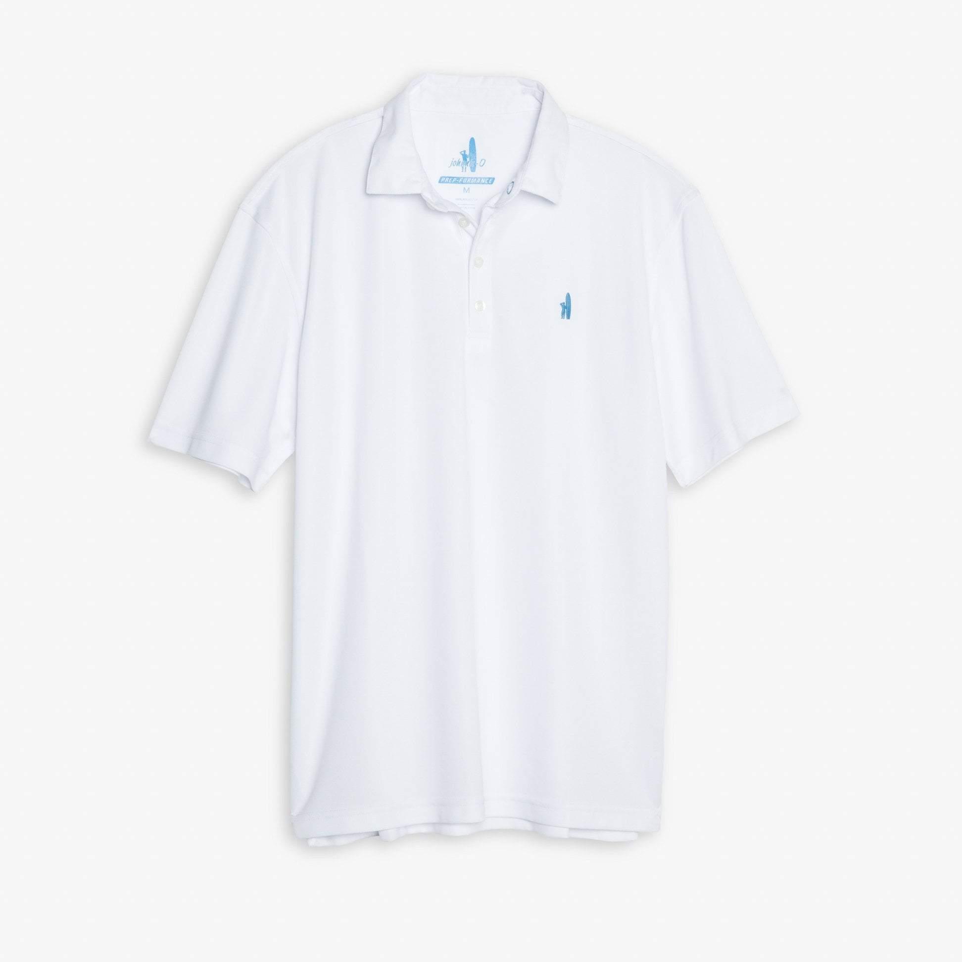 Fairway PREP-FORMANCE Pique Polo (White)