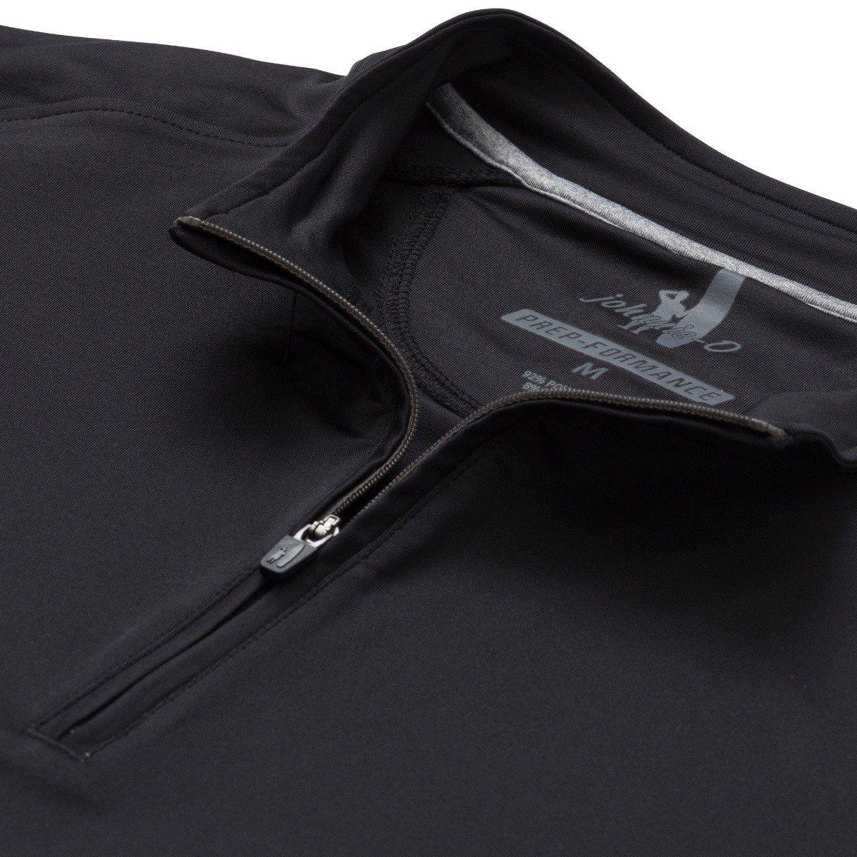 Flex PREP-FORMANCE 1/4 Zip Pullover (Black)