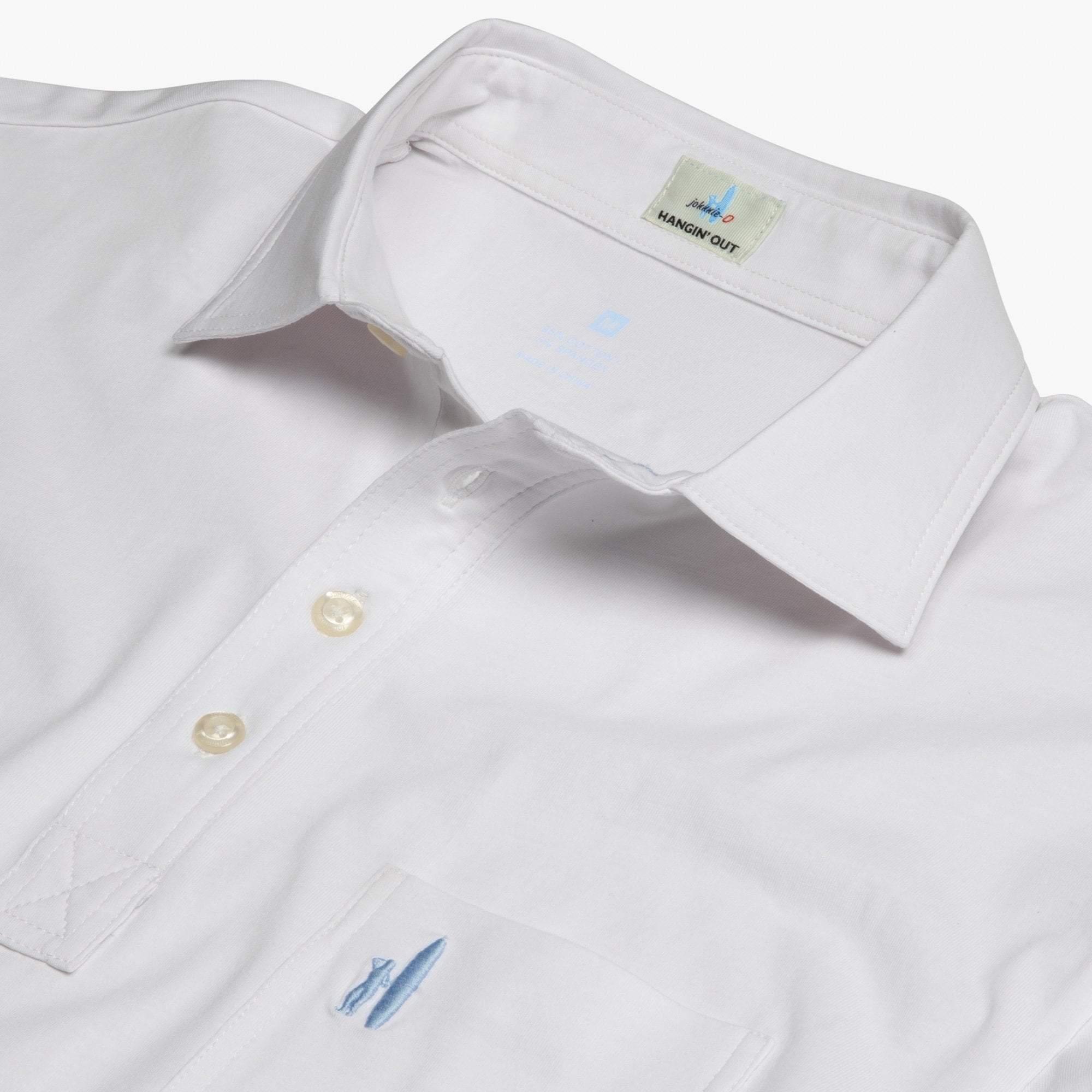 The Original 4-Button Polo (White)