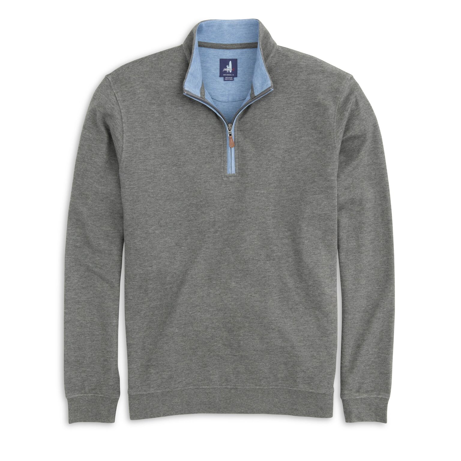 Sully 1/4 Zip Pullover (Charcoal)