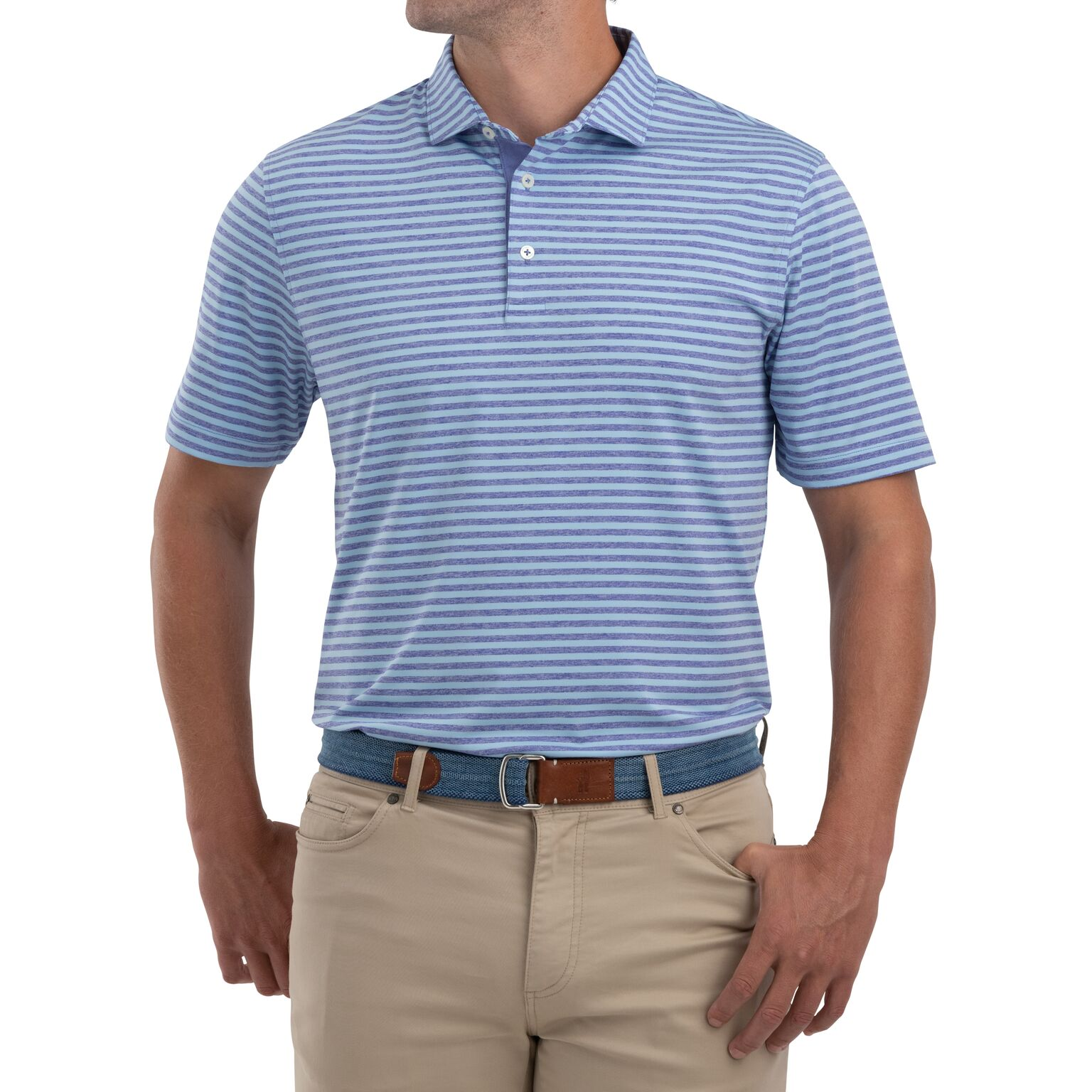 Smith Striped  PREP-FORMANCE Jersey Polo (Joker)