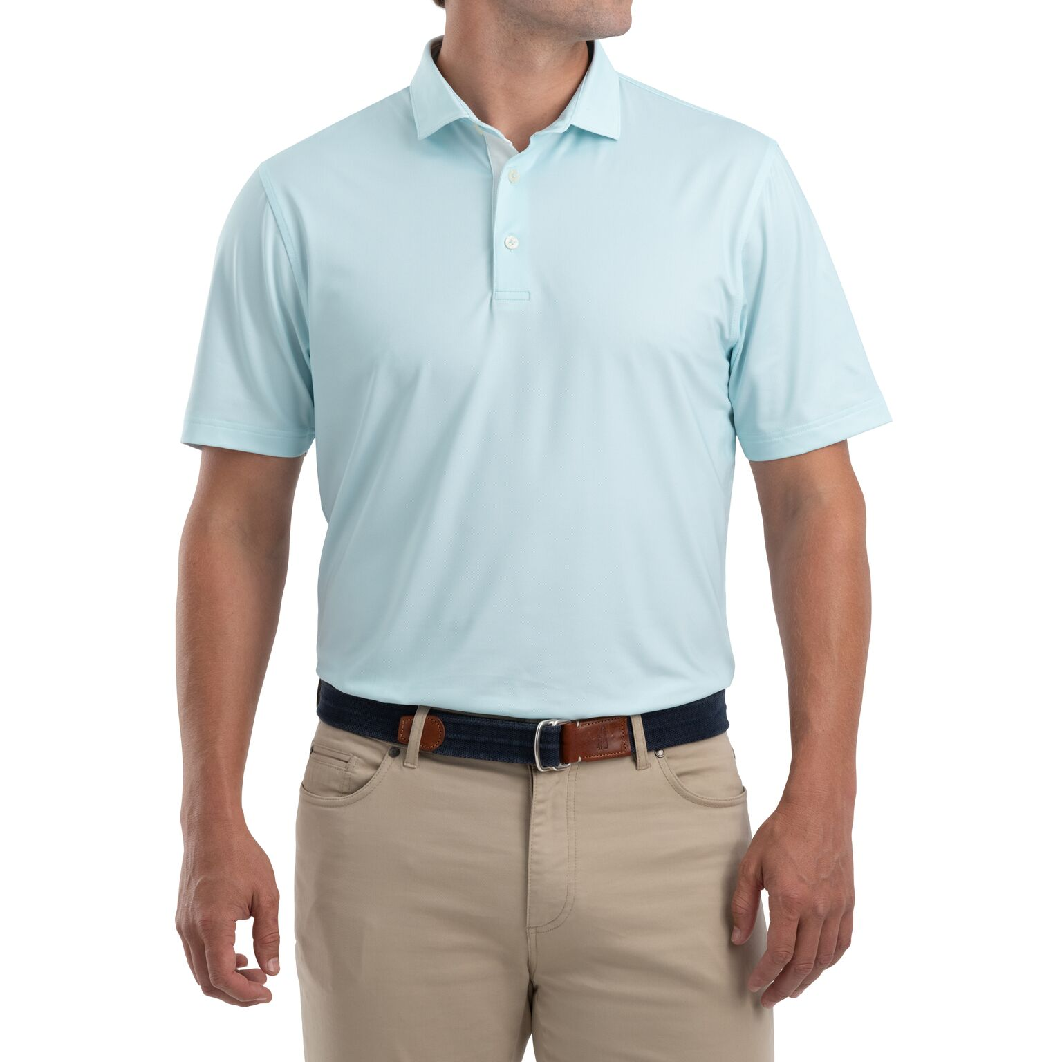 Robben Printed PREP-FORMANCE Jersey Polo (Gulf Blue )