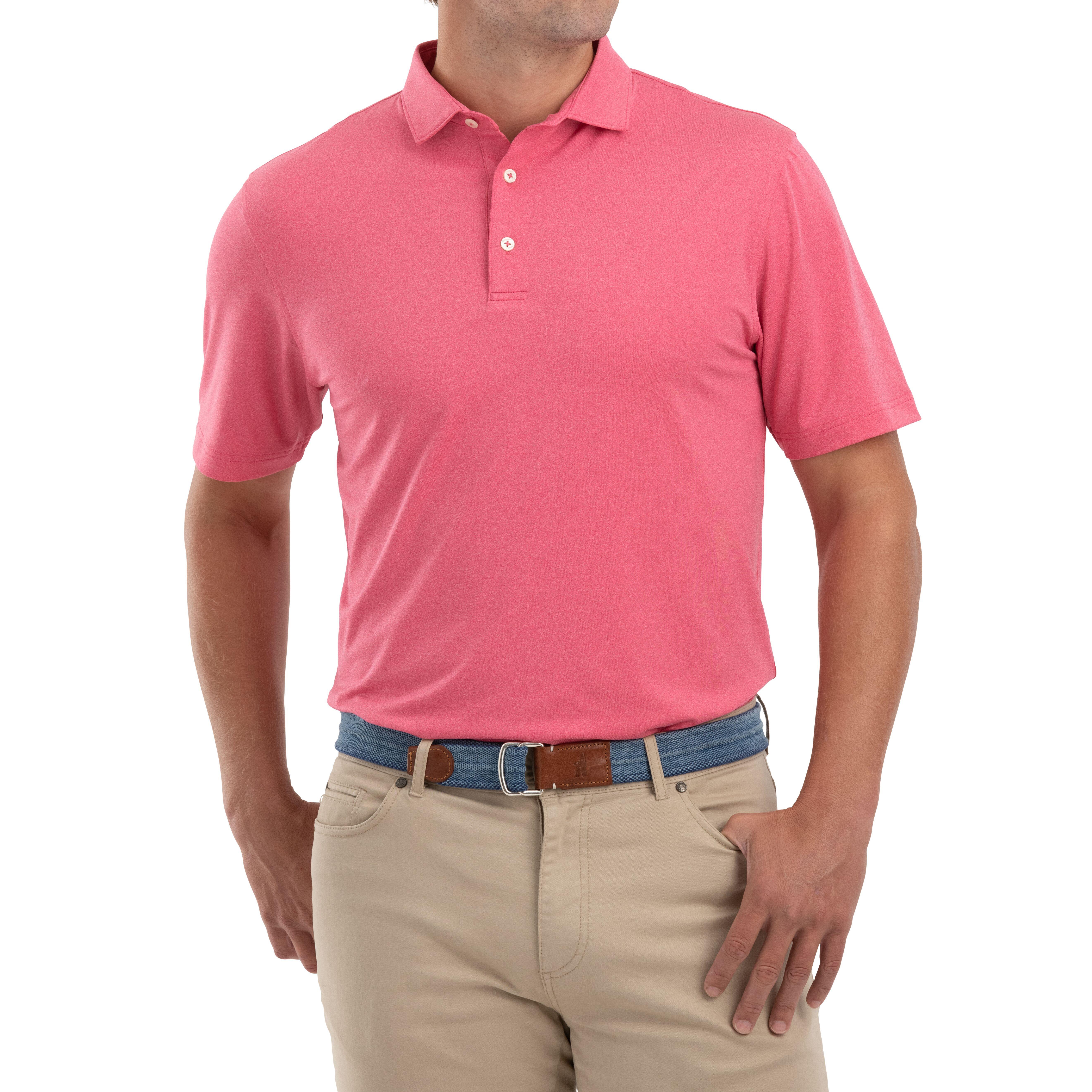 Birdie PREP-FORMANCE Jersey Polo (Strawberry)