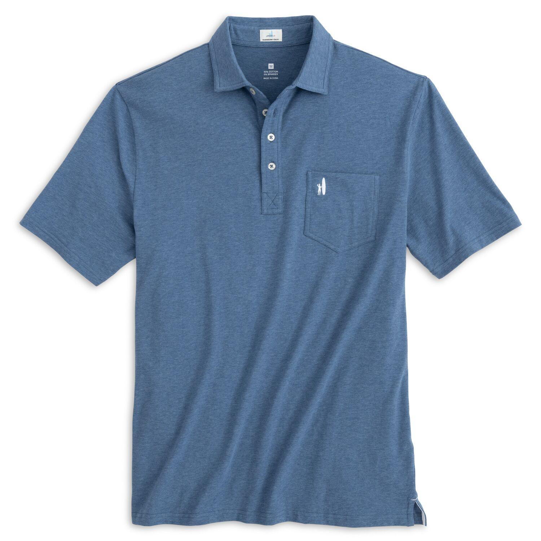Heathered Original Polo (Oceanside )