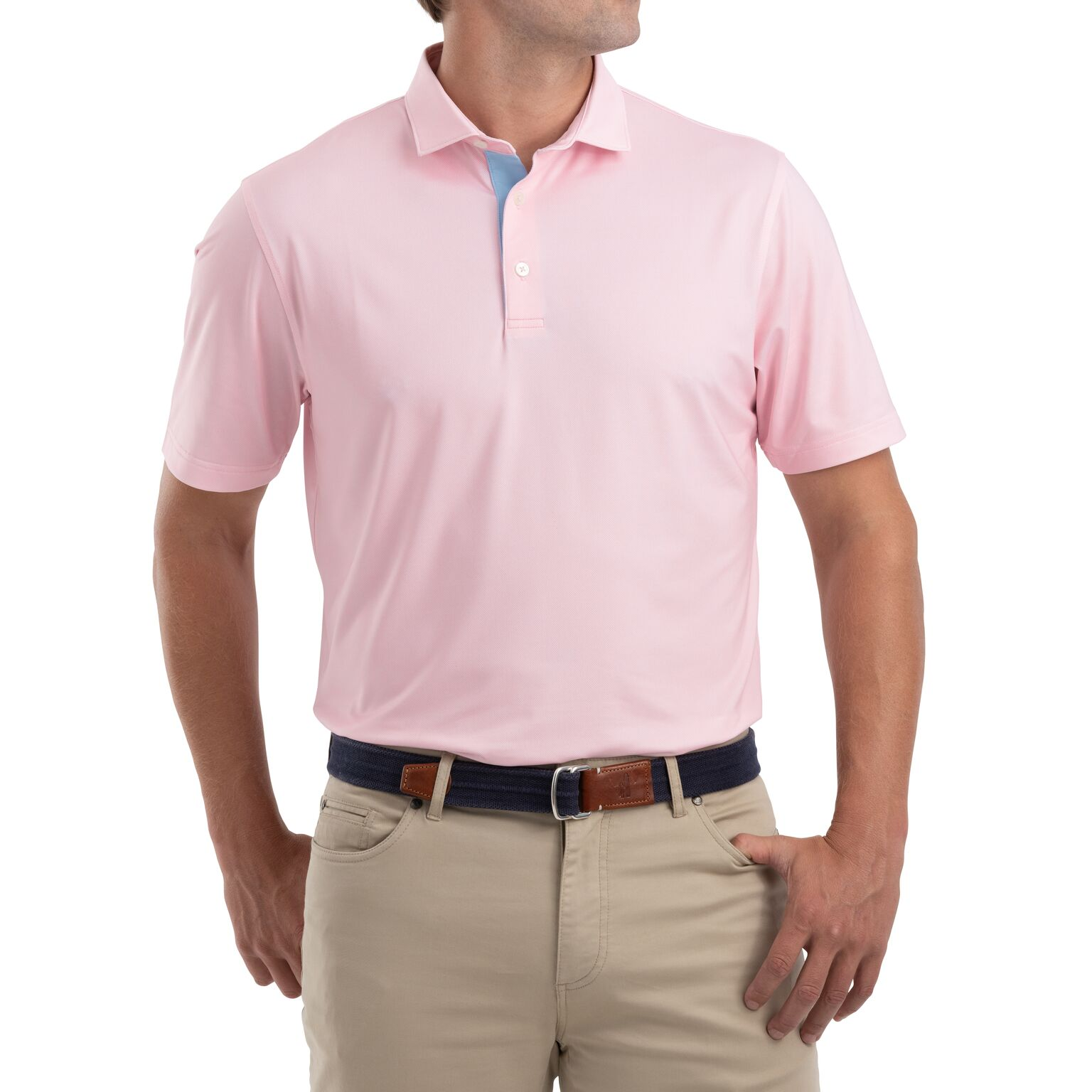 Robben Printed PREP-FORMANCE Jersey Polo (Pink )