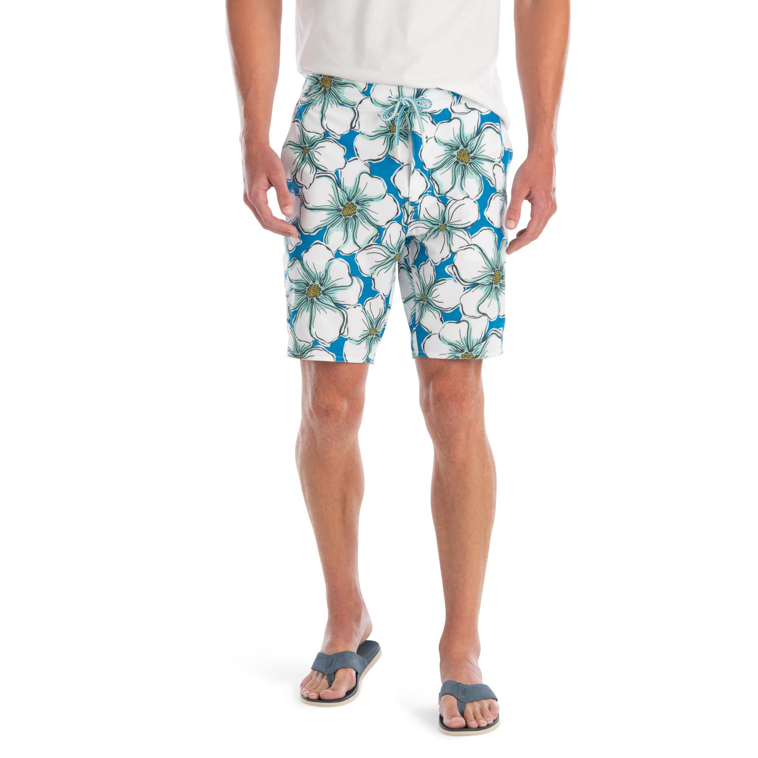 Mangrove Half Elastic Swim Shorts (Pipeline)