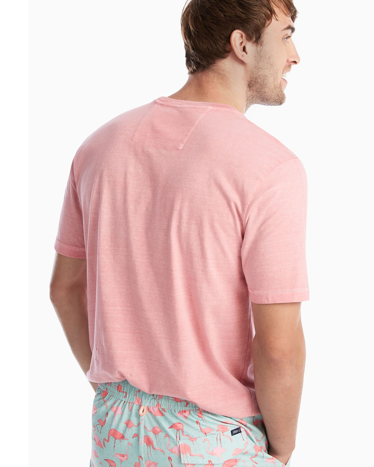 Tyler Crewneck T-Shirt (Malibu Red)