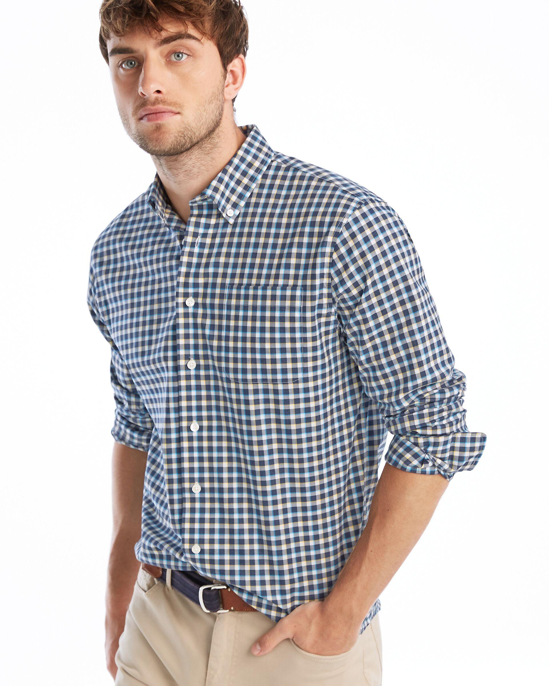 Curtis Button Down Shirt (Wake)