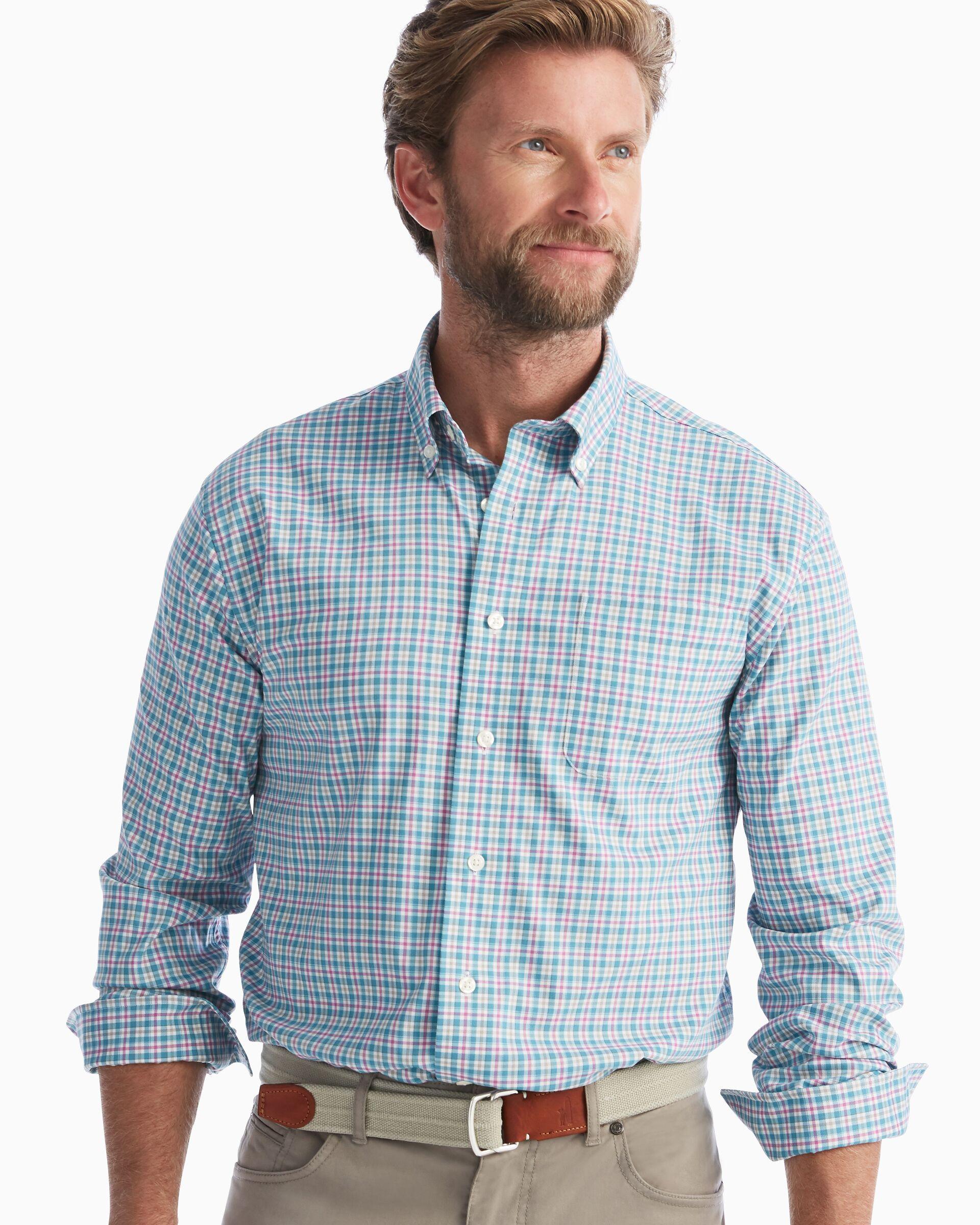 Finnigan Button Down Shirt (Niagara)