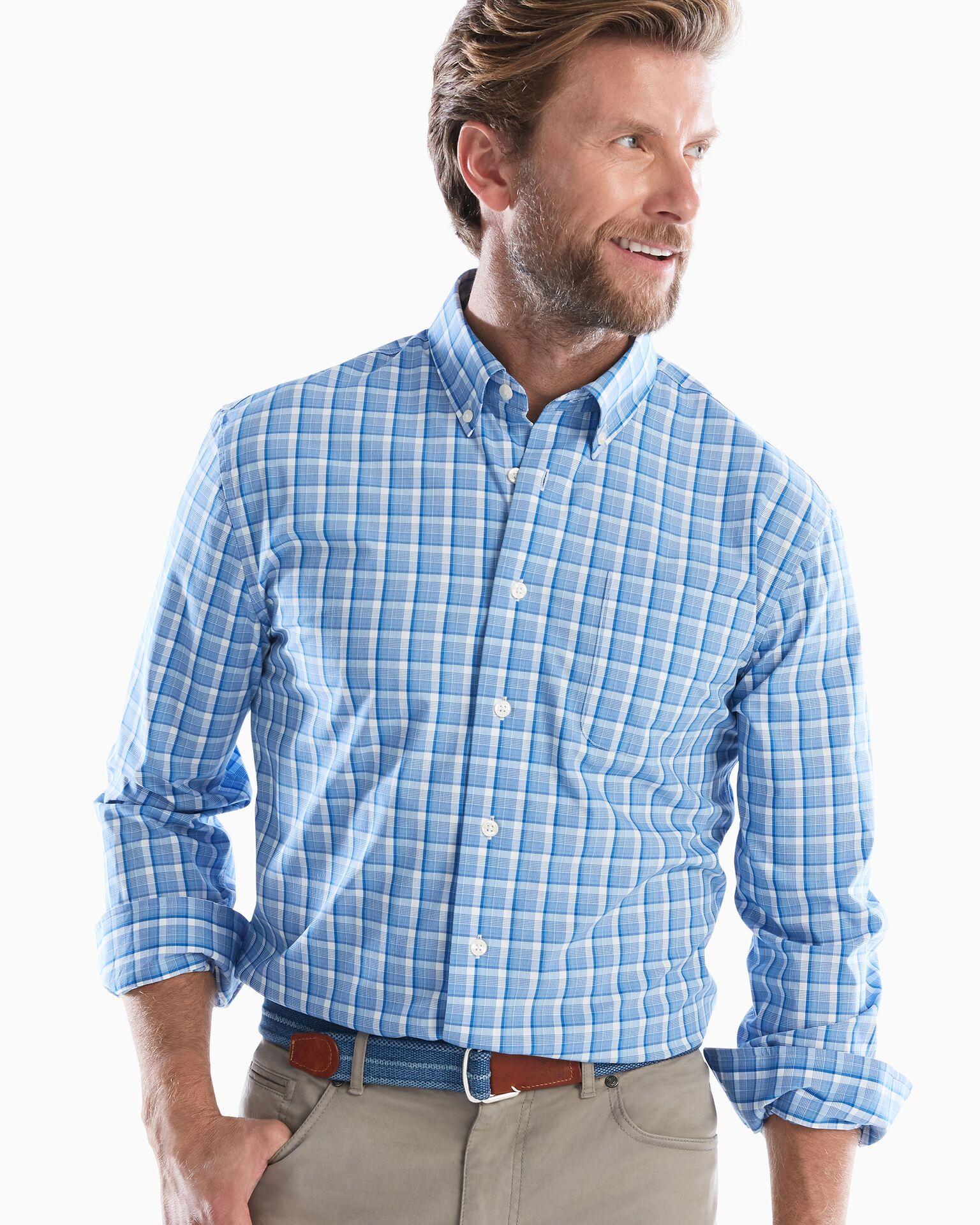 Seamus PREP-FORMANCE Button Down Shirt (Wake)