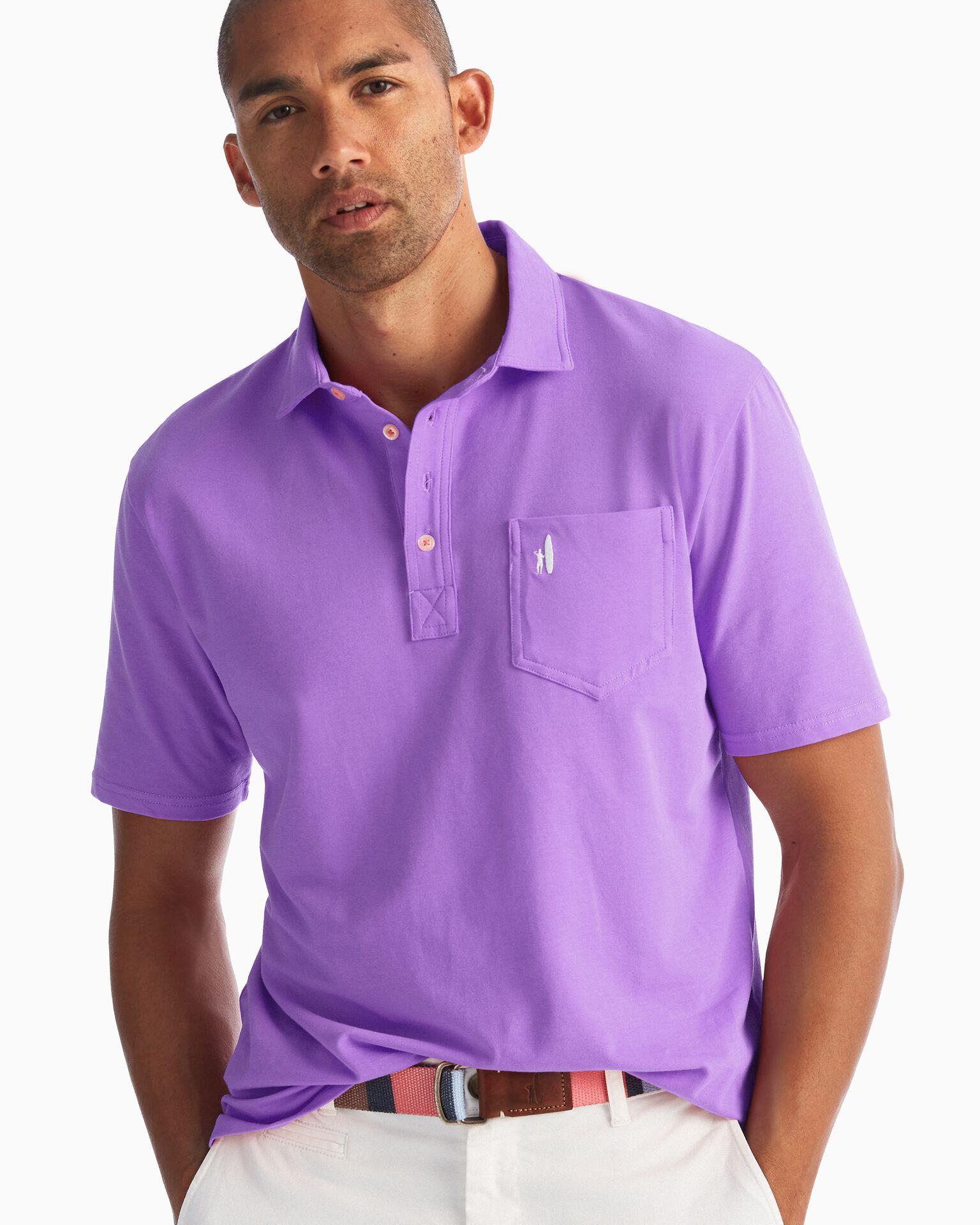 The Original 4-Button Polo (Lavender)