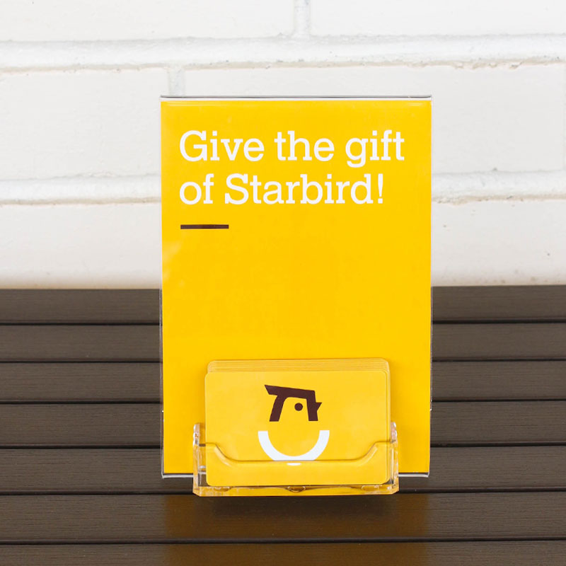 Give the gift of Starbird!