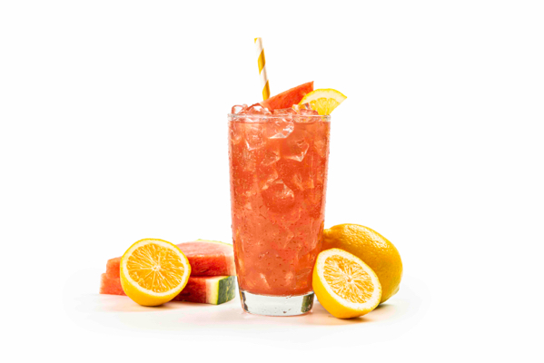 Seasonal Watermelon Lemonade and Peach Iced-Tea