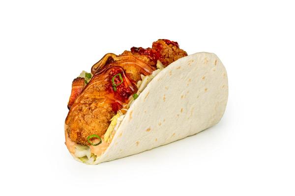 Hot Honey Taco