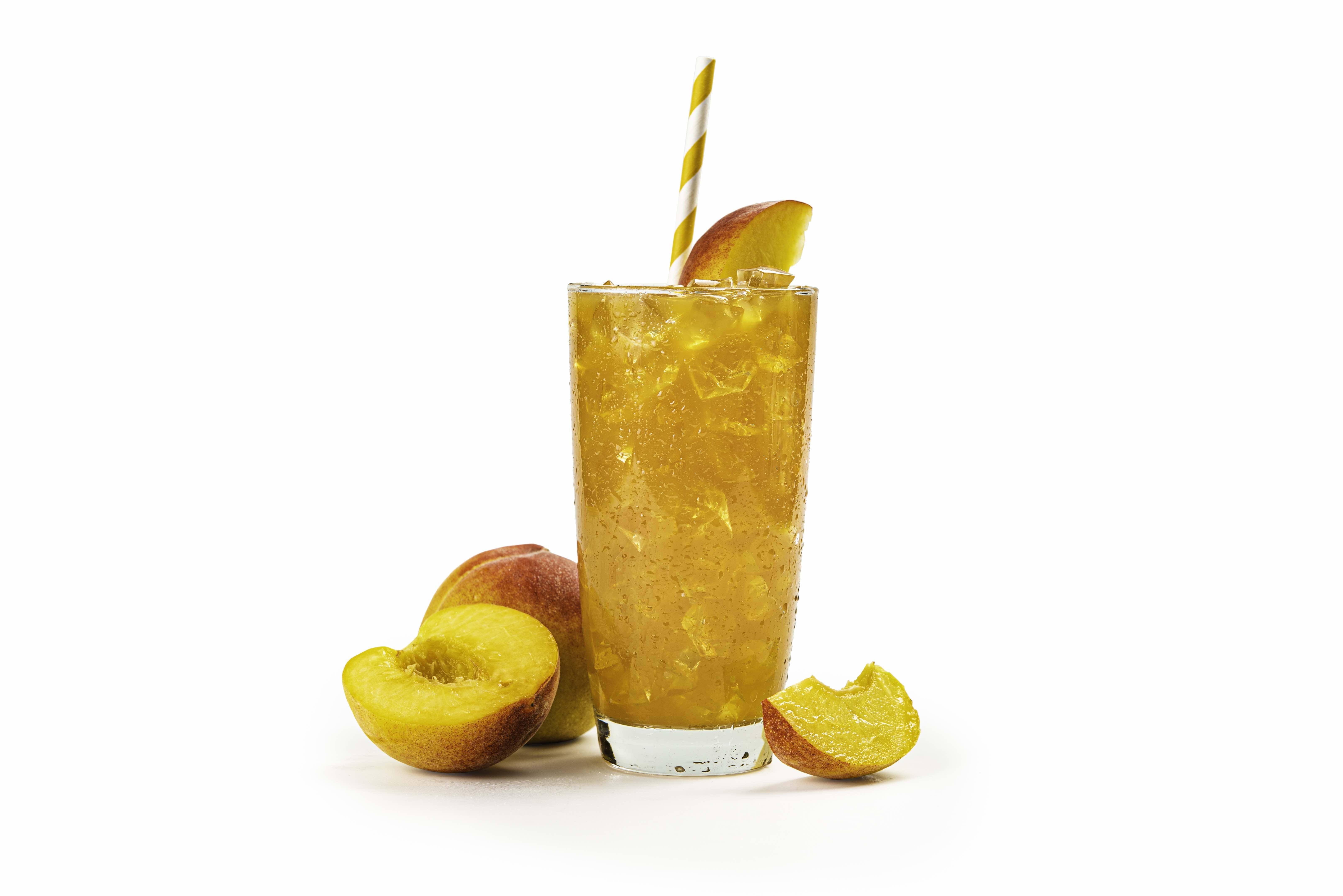 Housemade Classic and Seasonal Peach Iced-Tea