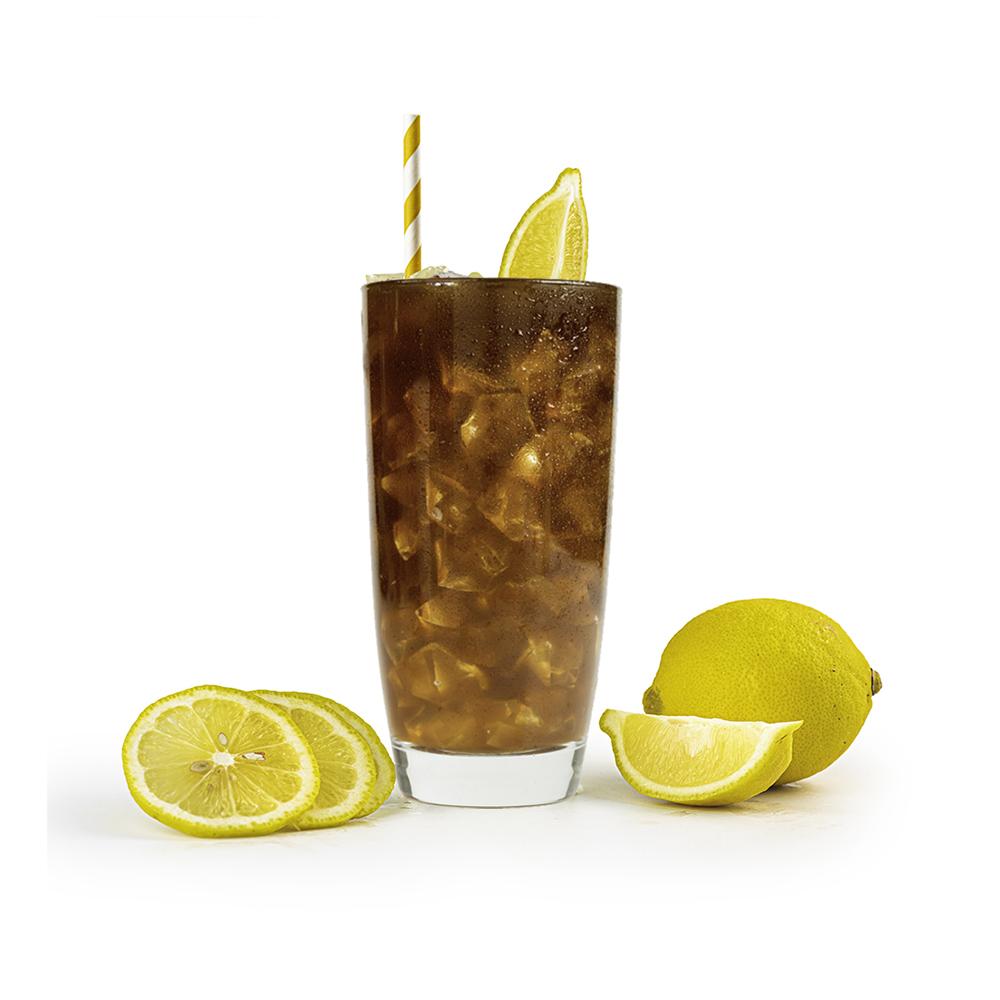 Housemade Classic and Seasonal Hibiscus Iced-Tea