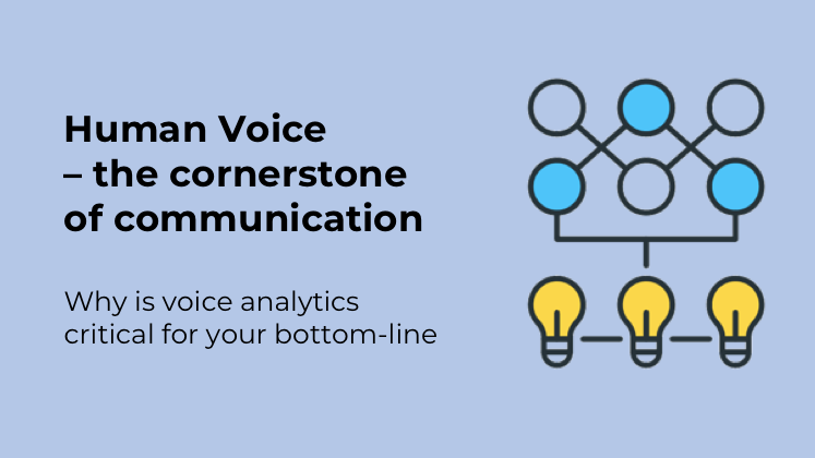 Voice analytics is changing how modern ca centers look at insights from their 'voice gold mines'.