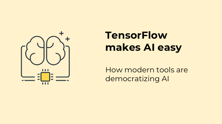 AI needed huge computing power only a few years ago. Now anyone interested in this field can set up their tools in no time and run some of the most advanced processes in opensource tools.