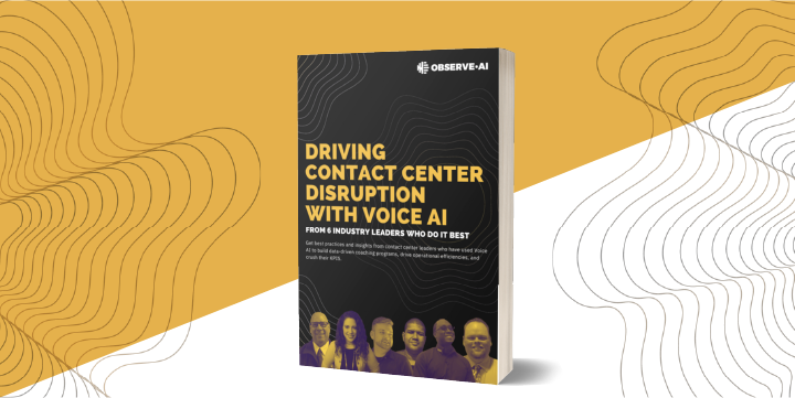 Driving Contact Center Disruption with Contact Center AI (From Industry Experts)