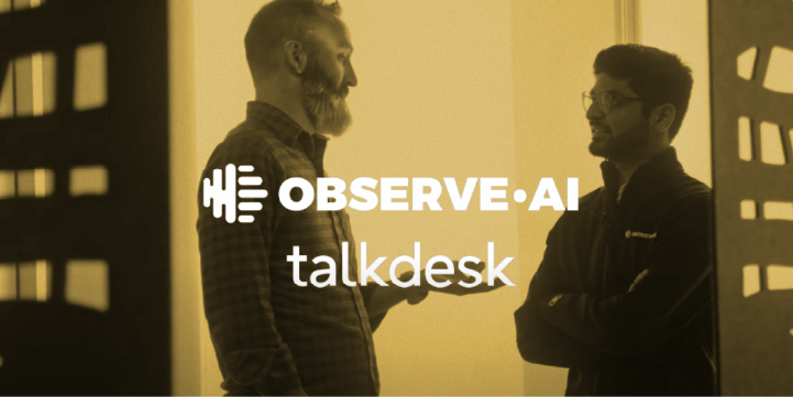 Talkdesk | Observe.AI Partner Stories