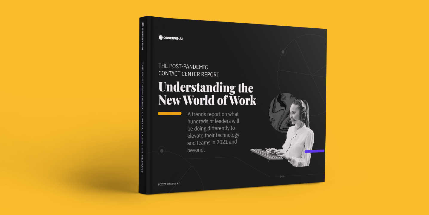 We interviewed over two hundred contact center leaders and asked them about what they'll be doing differently post-pandemic. Get to know their future plans, biggest post-pandemic challenges, and how they're feeling about the new world of work.