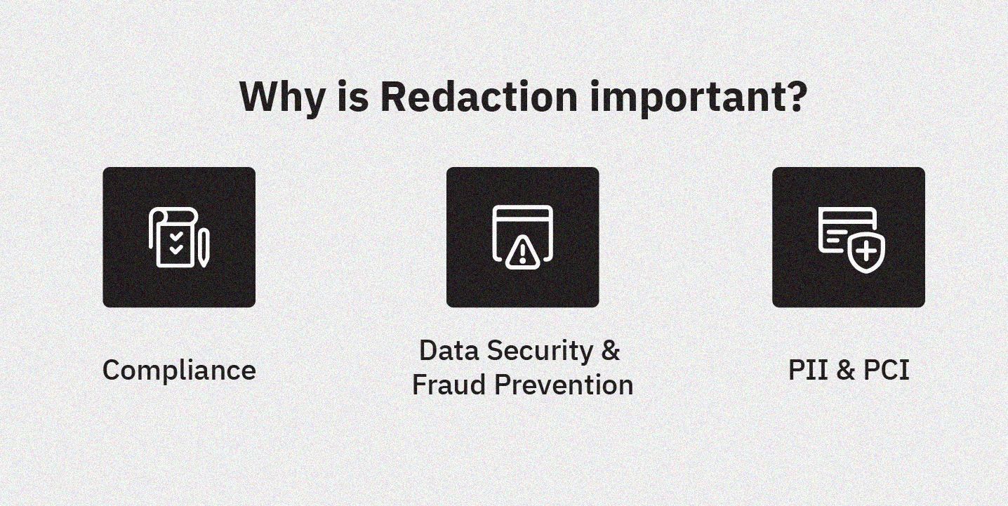 why is redaction important
