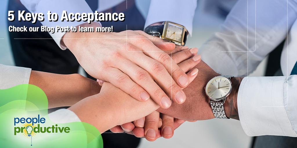 5 Keys to Acceptance