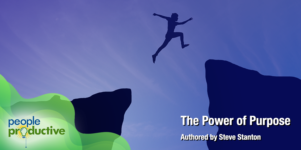 """""""The Power of Purpose"""" - Enjoy your reading!"""