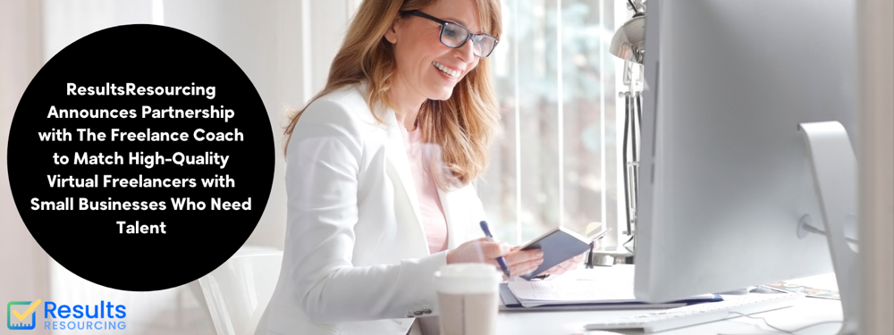 business owner getting connected with the virtual freelancer they need for their business
