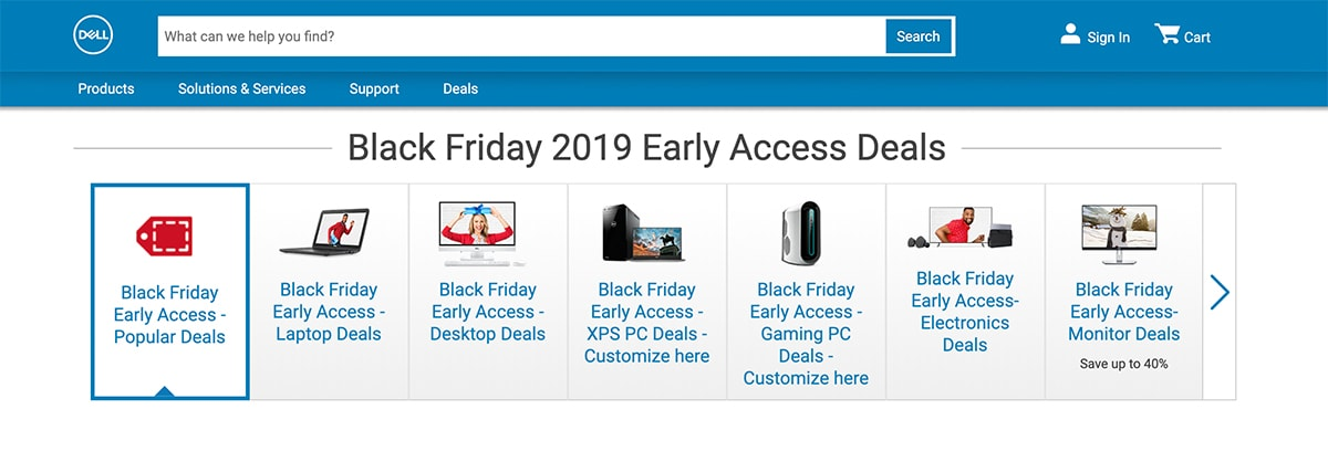 Dell: Black Friday Deals for Office Managers