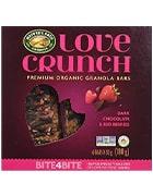 Box of Love Crunch organic granola bars