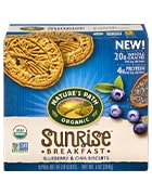 Box of Nature's Path Sunrise Blueberry & Chia biscuits