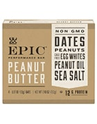 Box of Epic peanut butter bars to include in your office snack delivery order