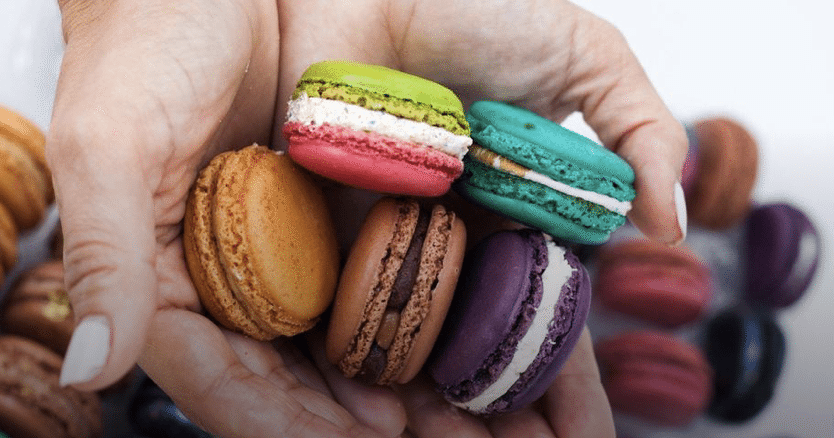 Macarons are fantastic treats, and our choice of French international snacks!