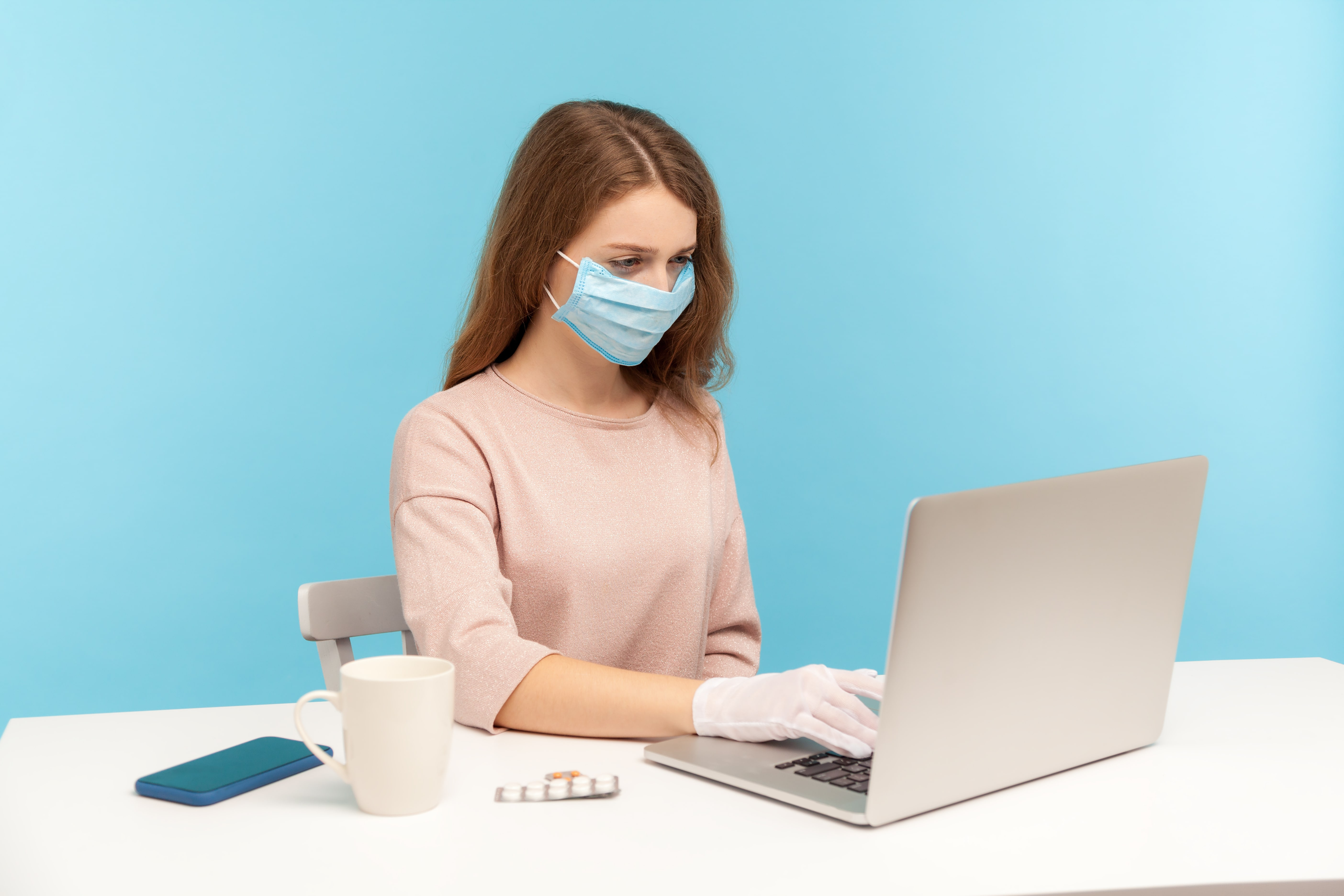 return to work plan - wear masks and wash hands