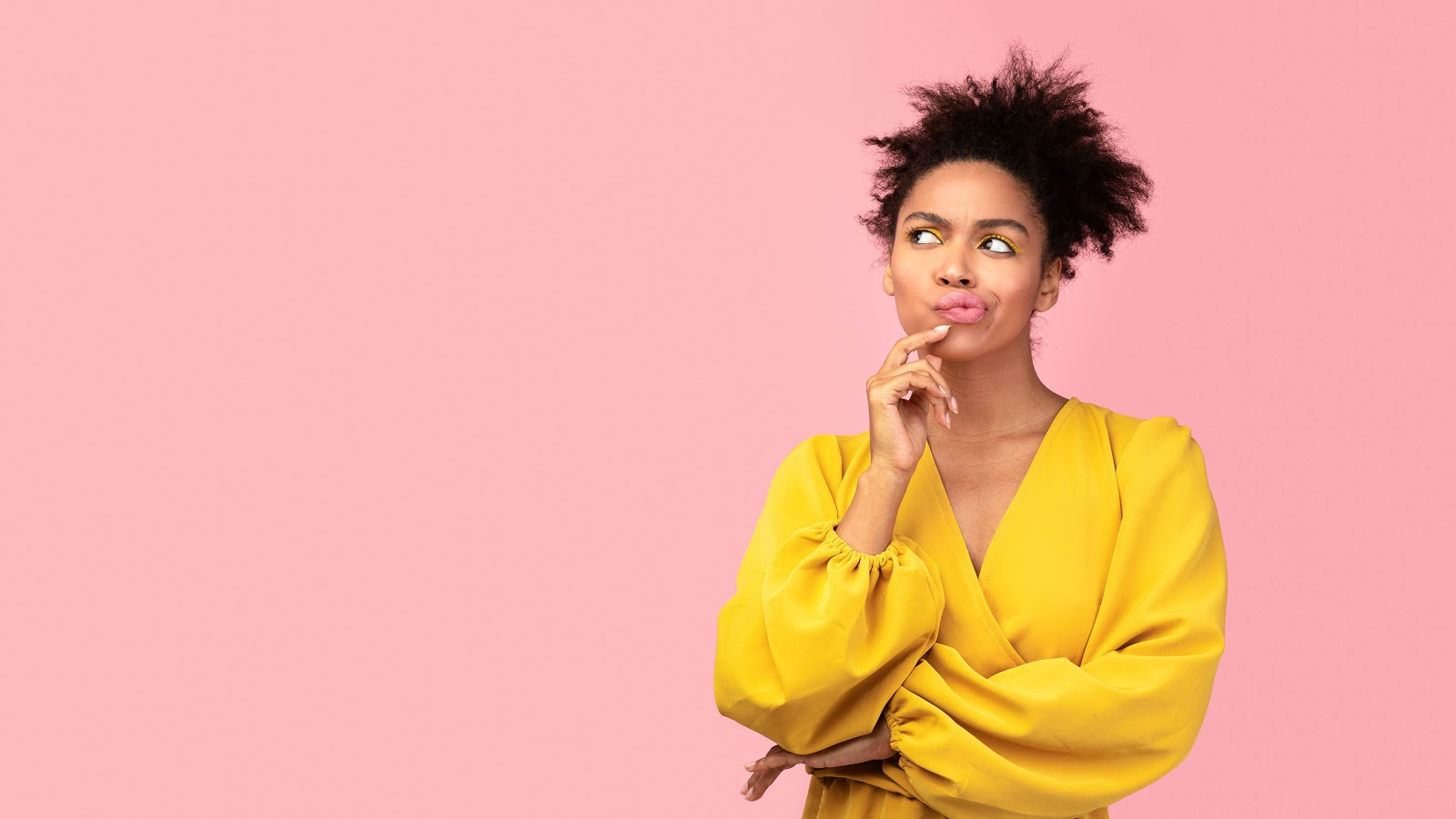 What is a per diem: Woman with a quizzical look on her face