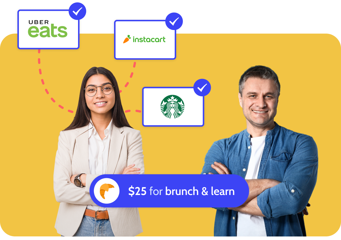 Restaurants where attendees can use their $25 lunch and learn credit