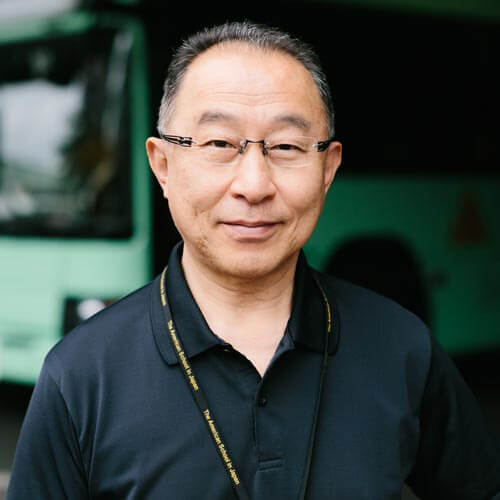 Portrait of Toshi Tajima