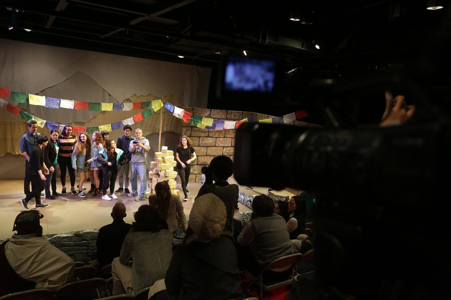 A High School Play in ASIJ's Black Box Theater