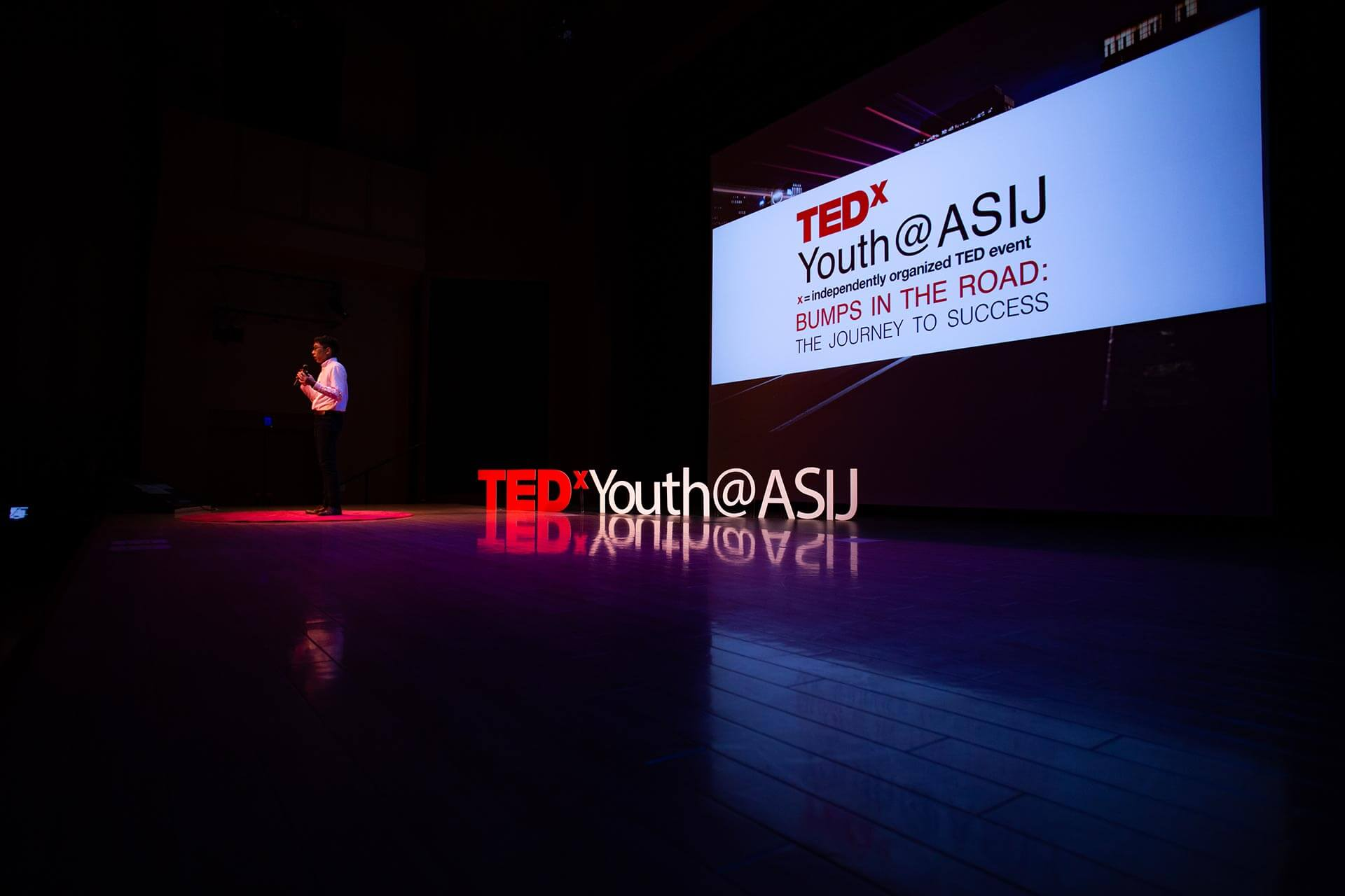 A High School Student Introduces the Next TedX Speaker