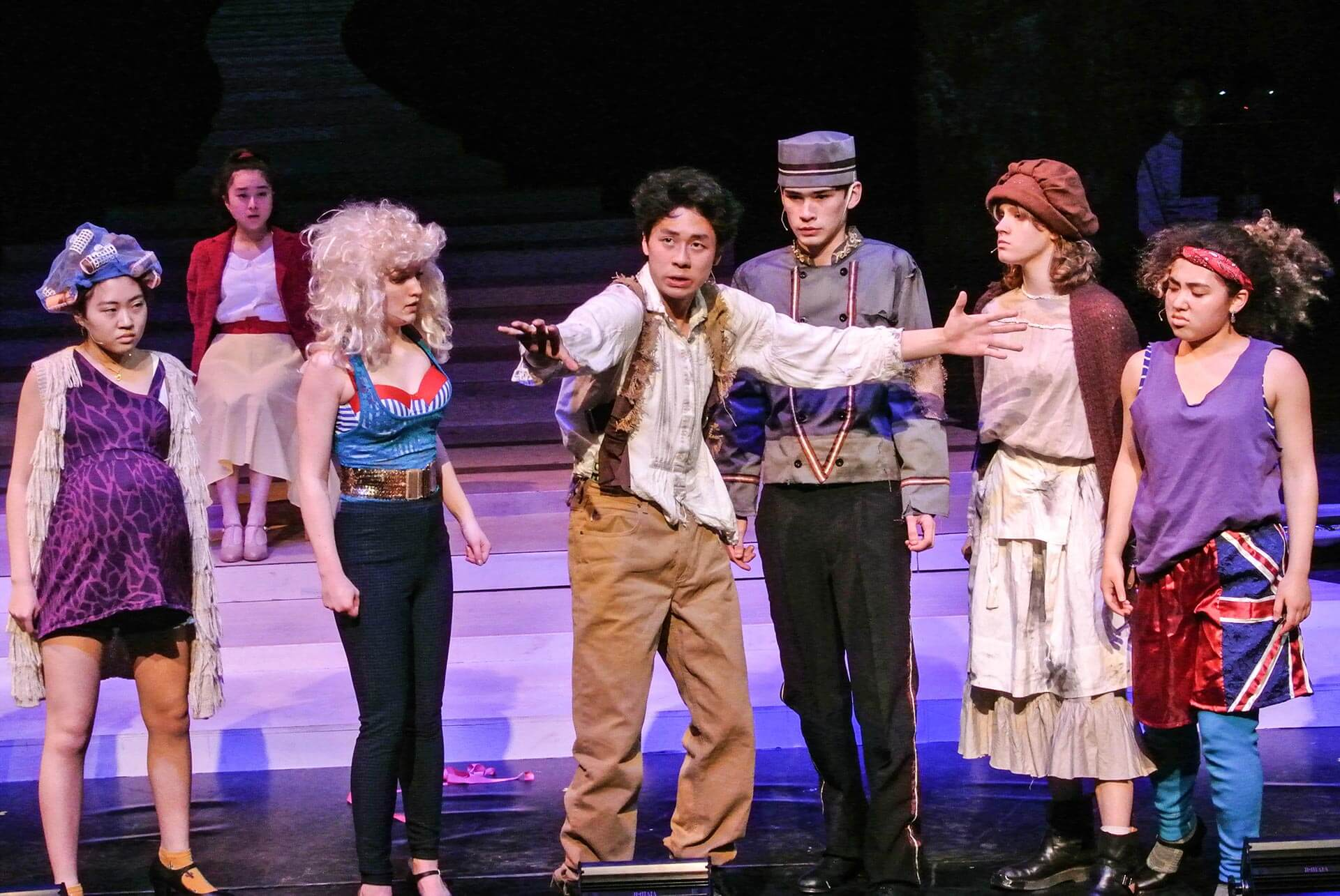 High School Students Perform in the Spring Musical