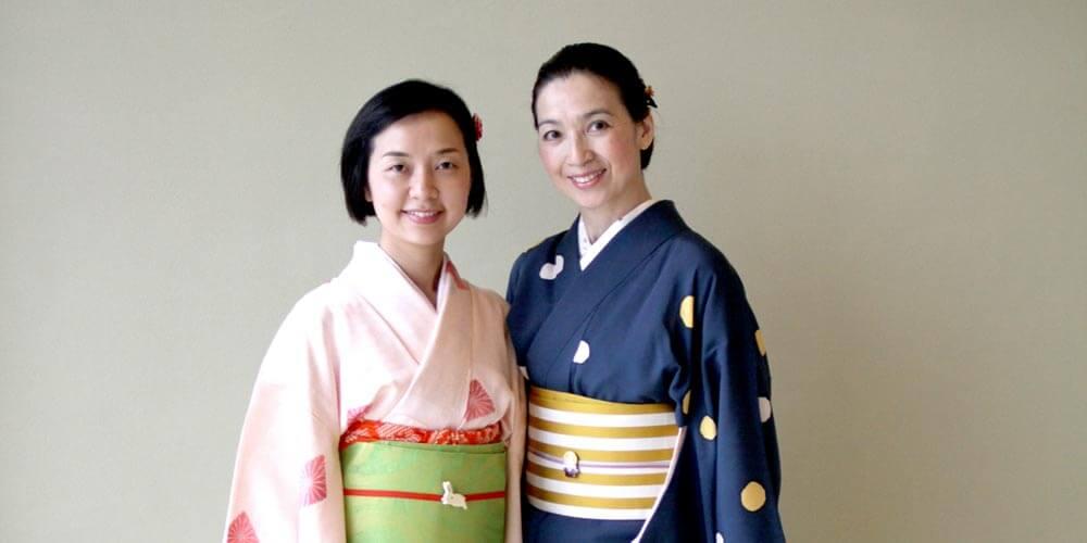 Portrait of Mariko Yokosuka and Kyoko Takano